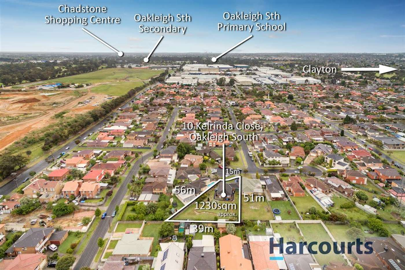 Main view of Homely house listing, 10 Kelrinda Close, Oakleigh South VIC 3167