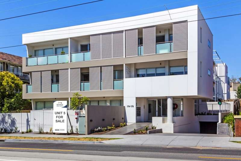 Main view of Homely apartment listing, Apartment 5/174-178 Riversdale Road, Hawthorn, VIC 3122