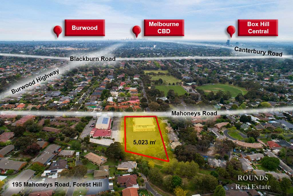 Main view of Homely  listing, 195 Mahoneys Road, Forest Hill, VIC 3131