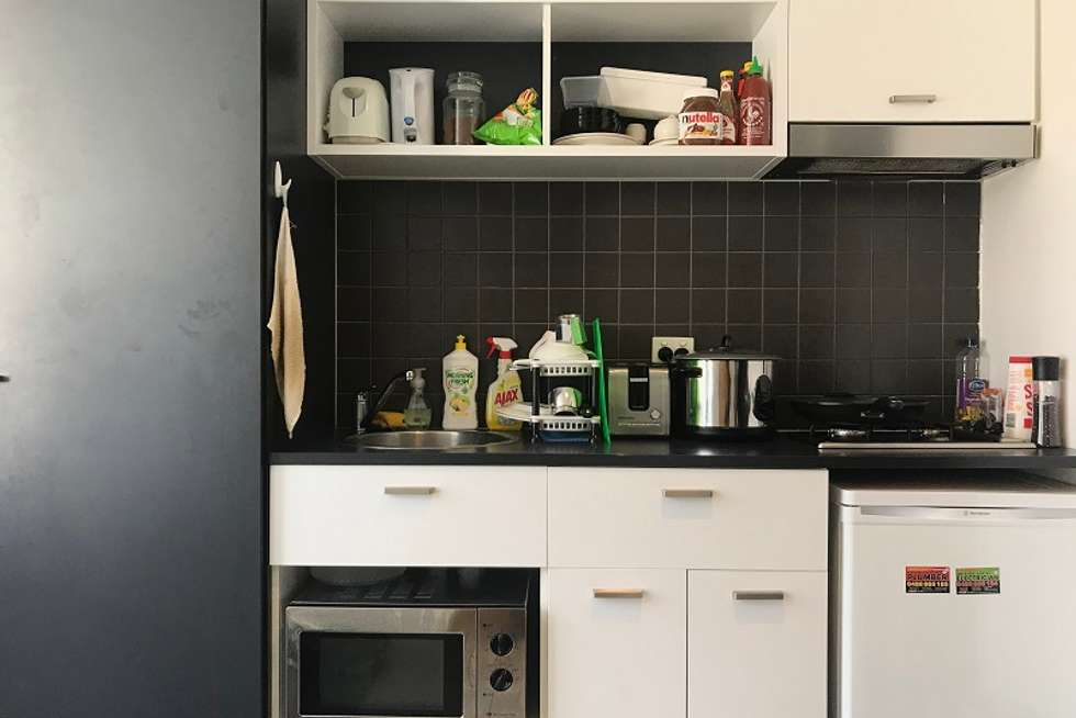 Third view of Homely apartment listing, 807/127 Leicester Street, Carlton VIC 3053