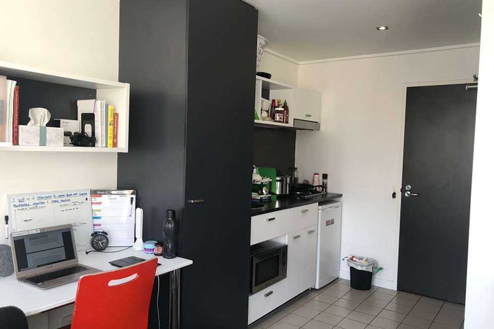 Fourth view of Homely apartment listing, 807/127 Leicester Street, Carlton VIC 3053