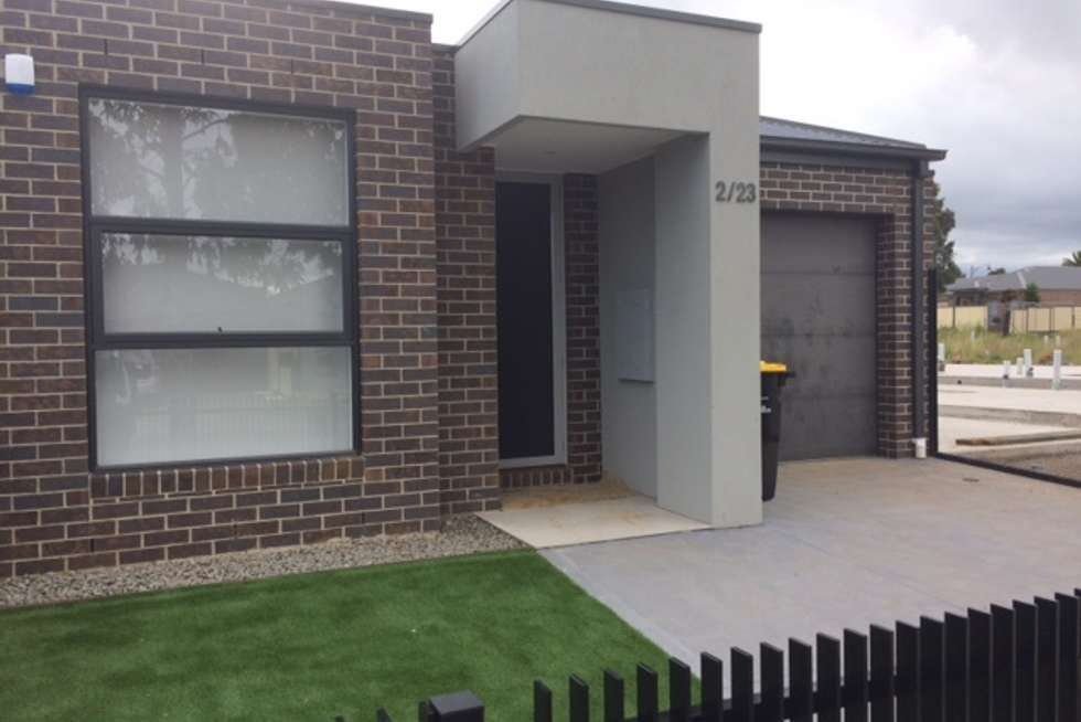 Second view of Homely townhouse listing, 2/23 Katrina Drive, Burnside Heights VIC 3023