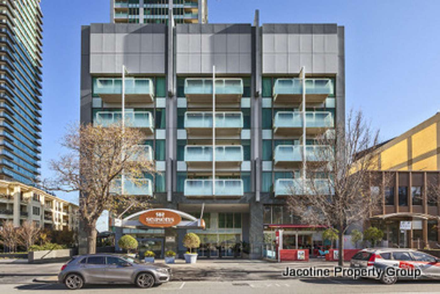 Main view of Homely apartment listing, T407/348 St Kilda Road, Melbourne VIC 3004