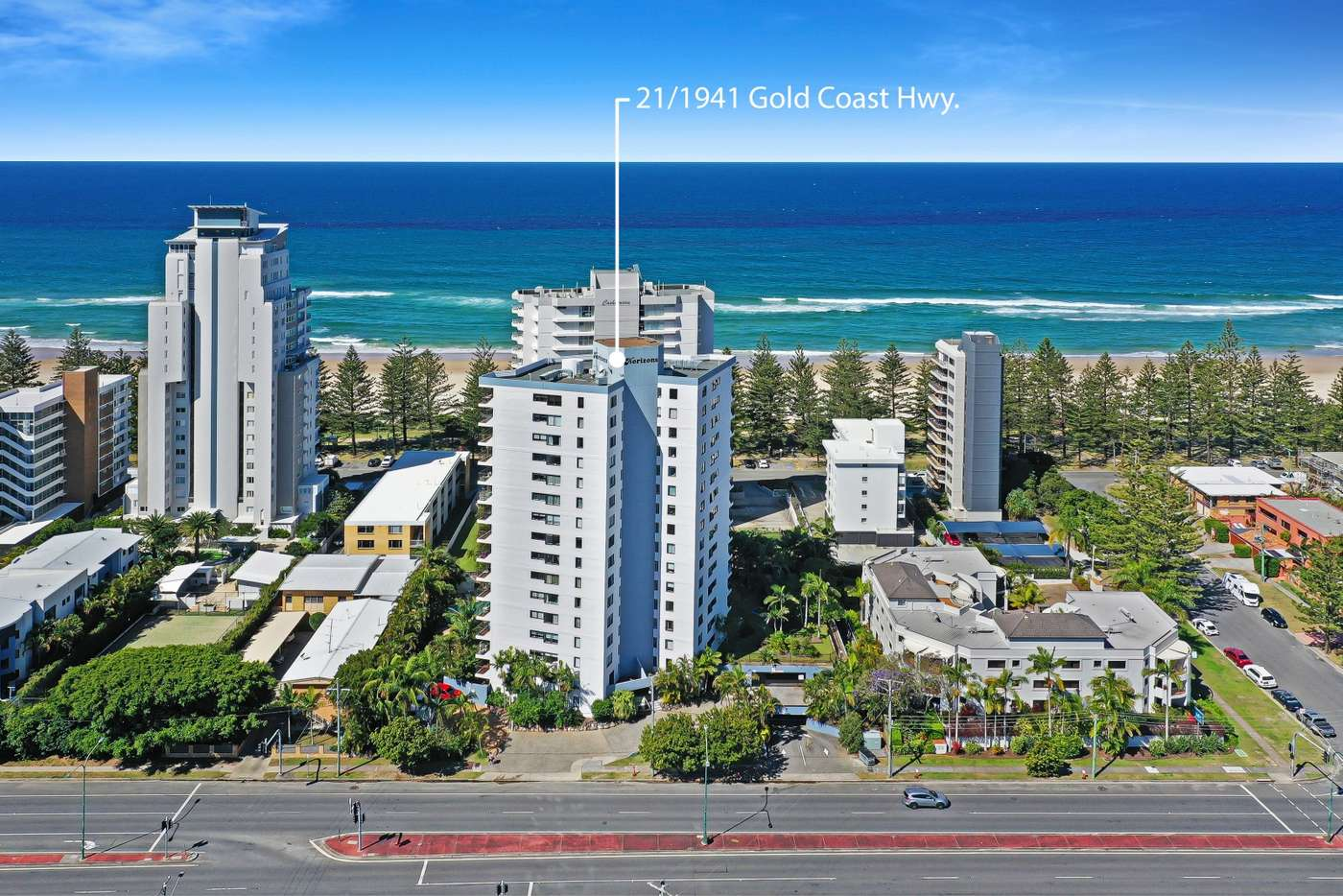 Main view of Homely unit listing, 21/1941 Gold Coast Highway, Burleigh Heads QLD 4220