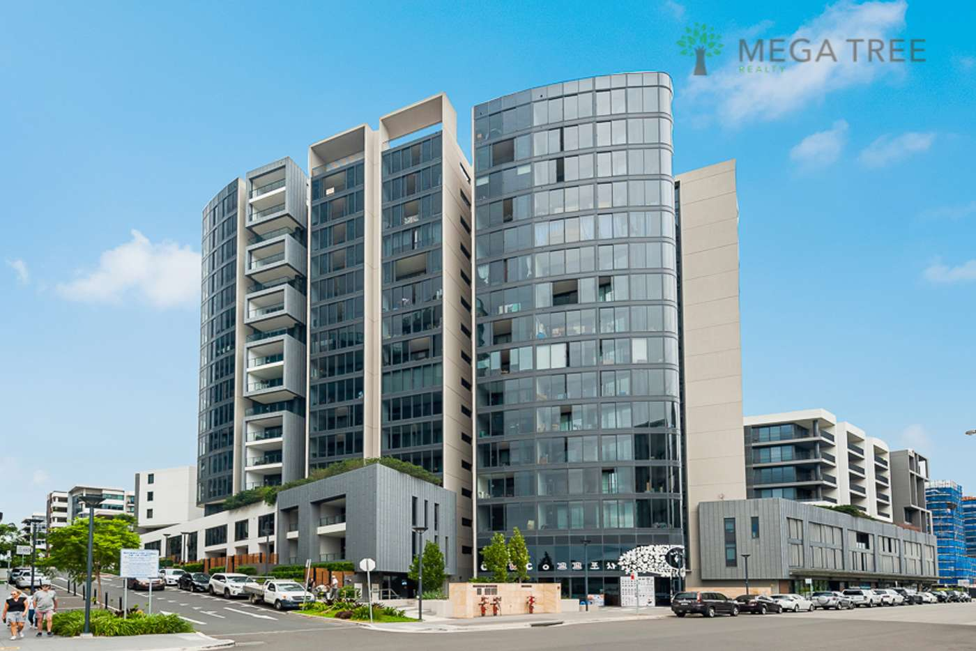 Main view of Homely apartment listing, 206/10 Burroway Road, Wentworth Point NSW 2127