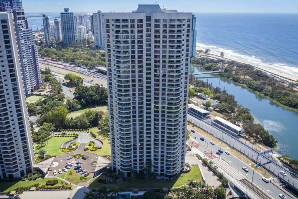 Second view of Homely apartment listing, 92/2 Admiralty Drive, Surfers Paradise QLD 4217