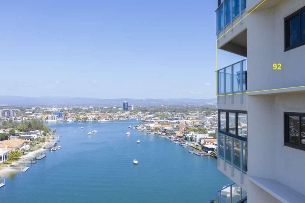 Fifth view of Homely apartment listing, 92/2 Admiralty Drive, Surfers Paradise QLD 4217