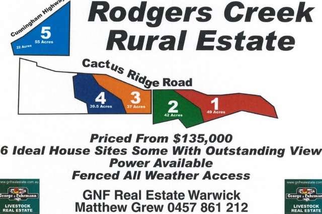 Lot 5 Cactus Ridge Road, Warwick QLD 4370