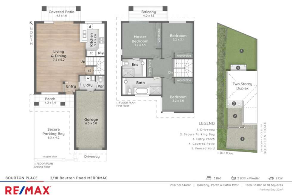 Second view of Homely house listing, 2/18 Bourton Rd, Merrimac QLD 4226