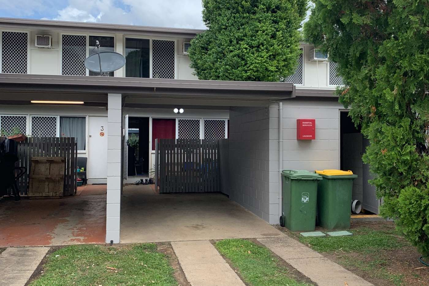 Main view of Homely townhouse listing, 4/174 Harold Street, West End QLD 4810