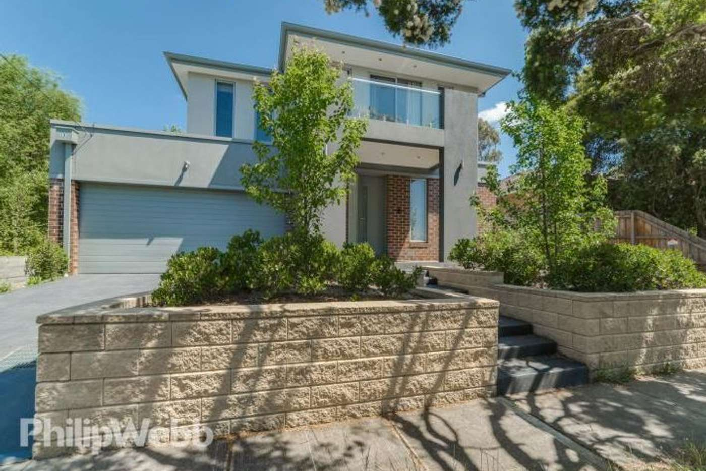 Main view of Homely townhouse listing, 1/4 Ascot Street, Doncaster East VIC 3109