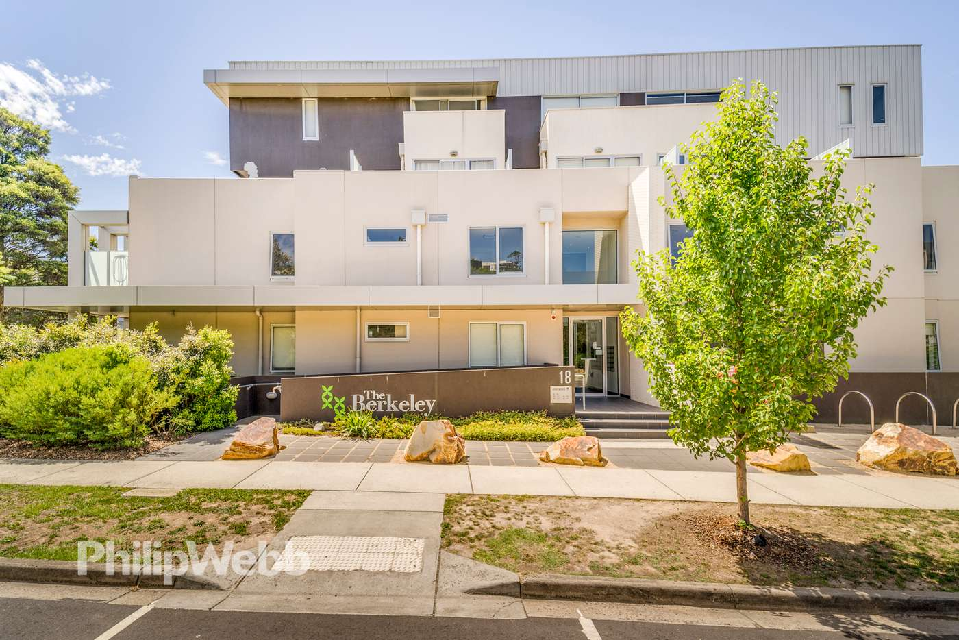 Main view of Homely apartment listing, 103/18 Berkeley Street, Doncaster VIC 3108