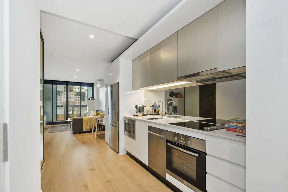 Second view of Homely apartment listing, 206/33 Rose Lane, Melbourne VIC 3000