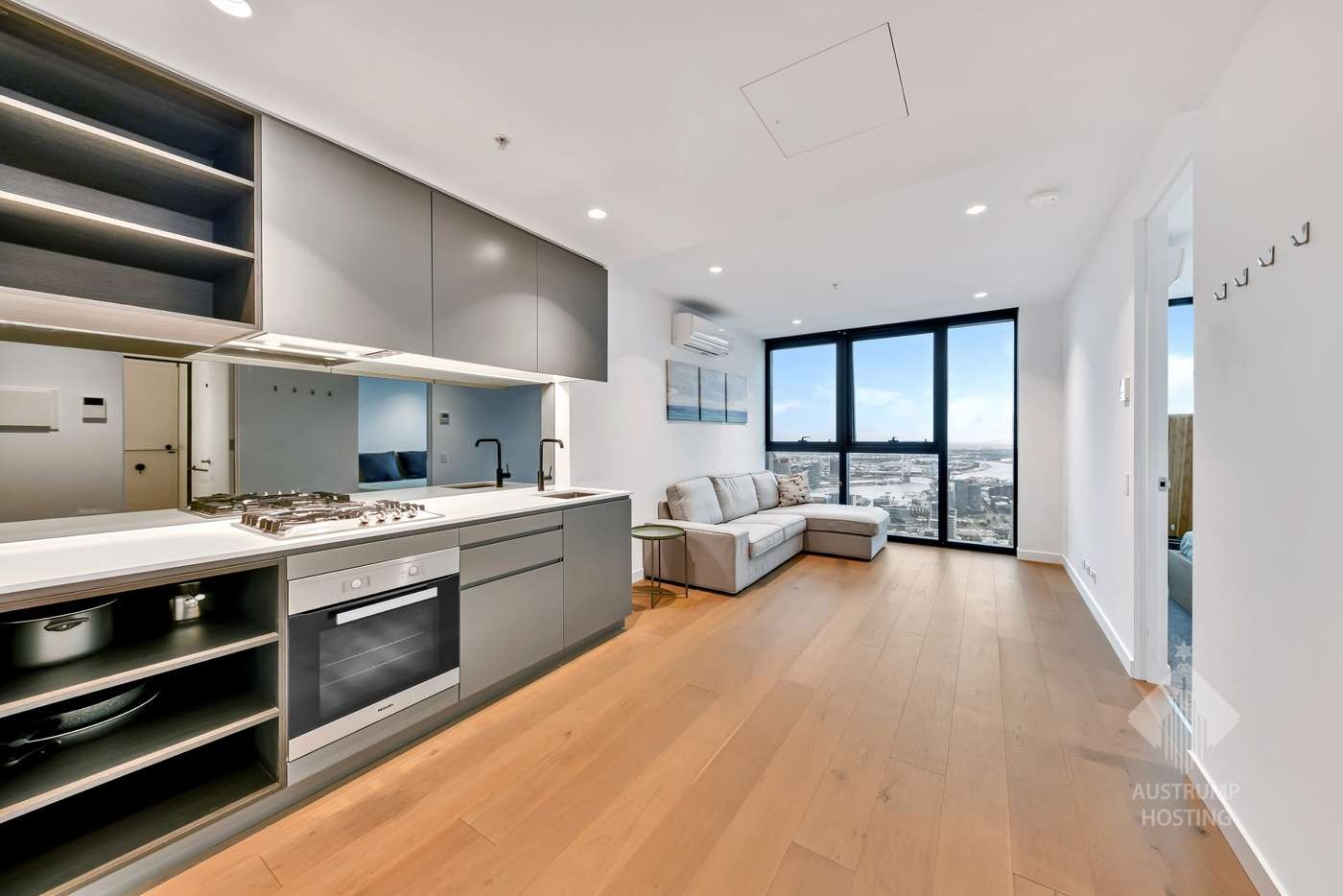 Main view of Homely apartment listing, 6707/462 Elizabeth Street, Melbourne VIC 3000