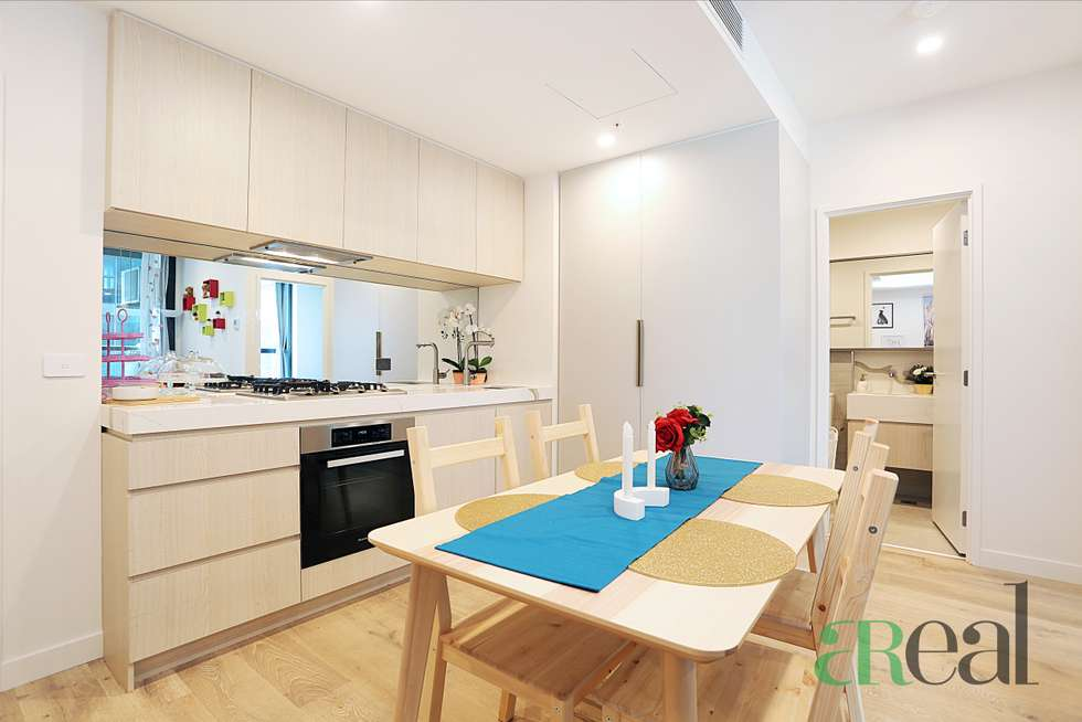 Second view of Homely apartment listing, 911/393 Spencer Street, West Melbourne VIC 3003