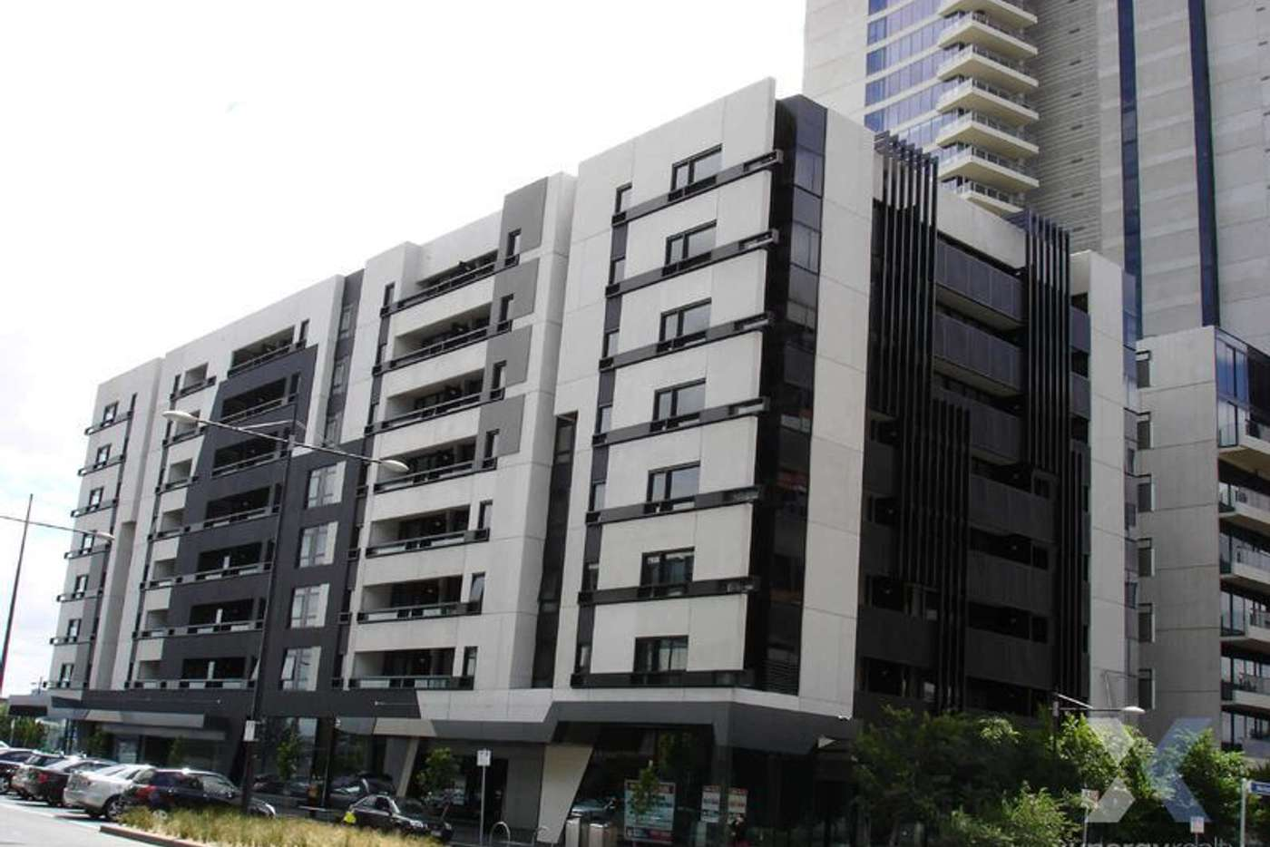 Main view of Homely apartment listing, 402/838 Bourke Street, Docklands VIC 3008