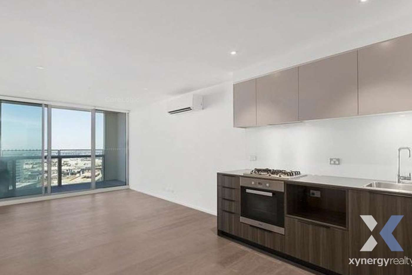 Main view of Homely apartment listing, 3407E/888 Collins Street, Melbourne VIC 3000