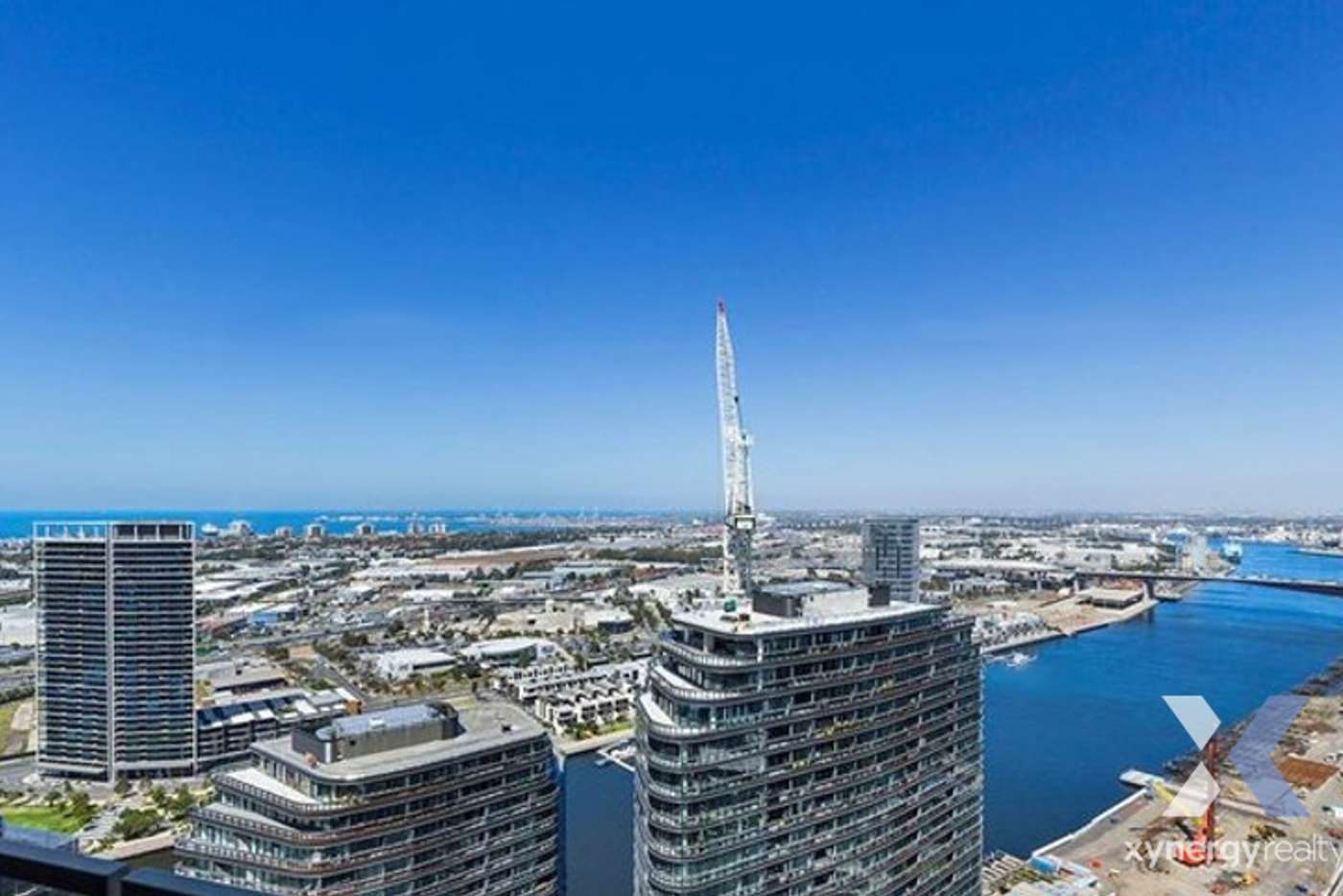 Fifth view of Homely apartment listing, 3407E/888 Collins Street, Melbourne VIC 3000