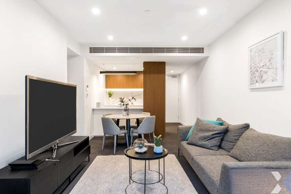 Second view of Homely apartment listing, 702/555 St Kilda Road, Melbourne VIC 3004