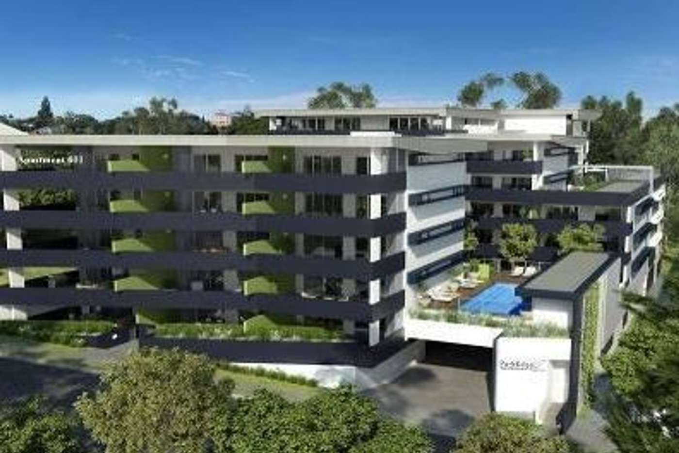 Main view of Homely unit listing, 404/19-23 Tank Street, Kelvin Grove QLD 4059