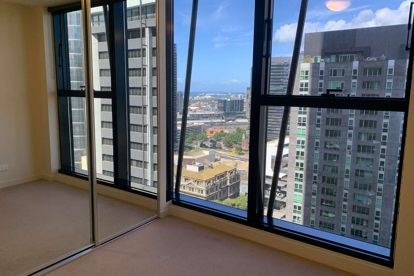 Main view of Homely apartment listing, 2408/568 Collins Street, Melbourne VIC 3000