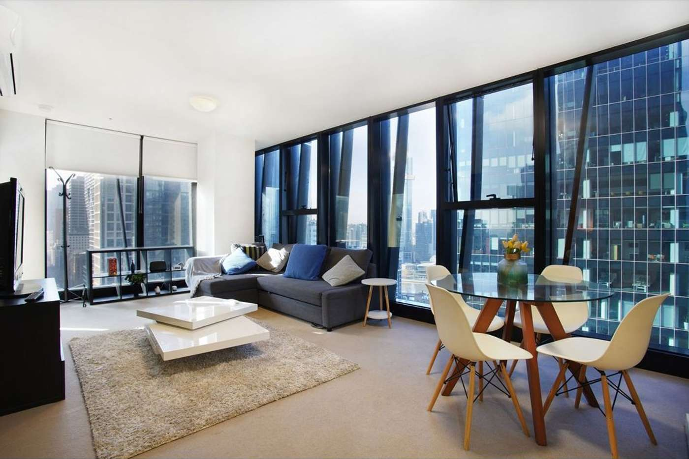 Main view of Homely apartment listing, 2402/568 Collins Street, Melbourne VIC 3000