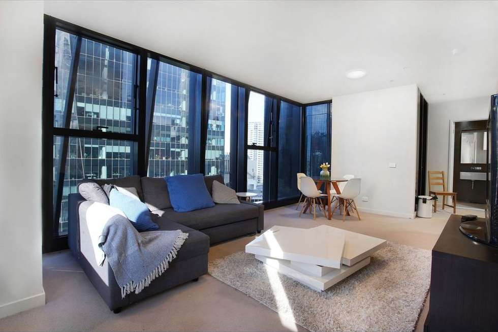 Second view of Homely apartment listing, 2402/568 Collins Street, Melbourne VIC 3000