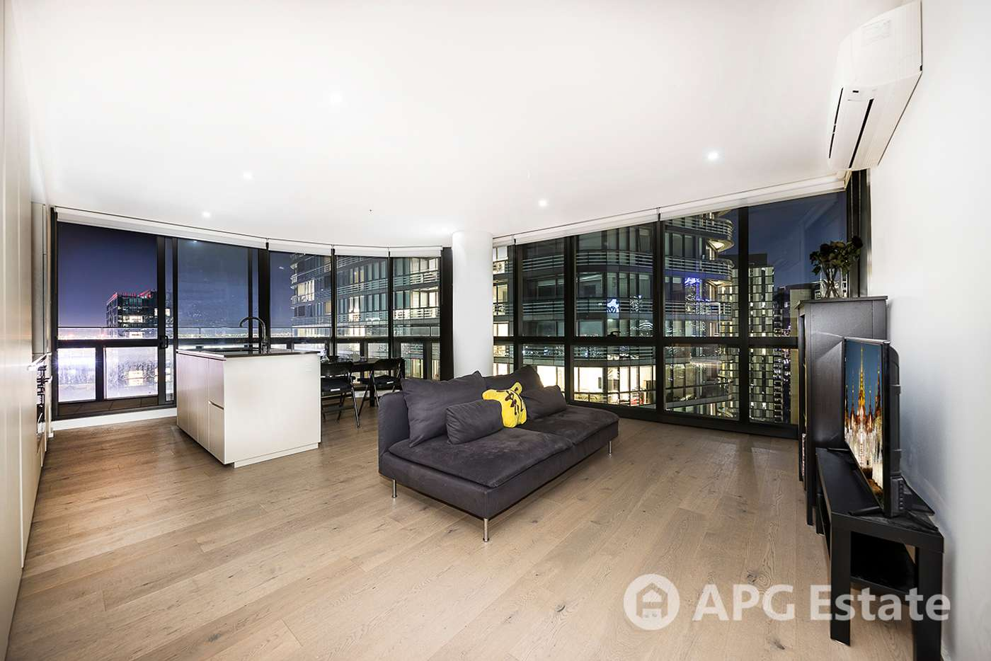 Main view of Homely apartment listing, 2304S/889 Collins Street, Docklands VIC 3008