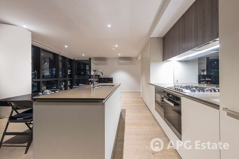 Second view of Homely apartment listing, 2304S/889 Collins Street, Docklands VIC 3008
