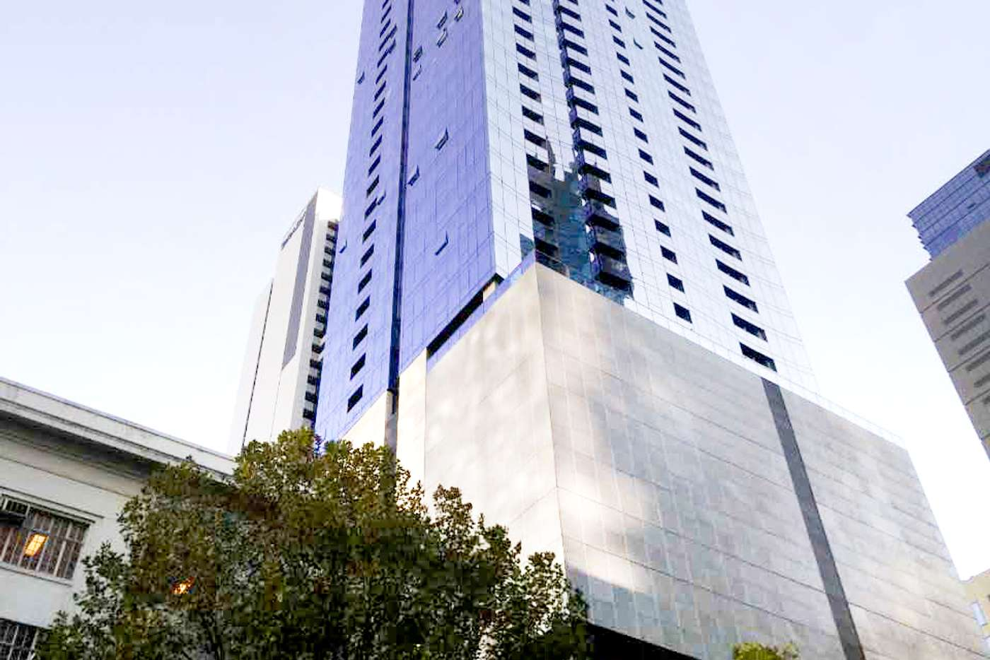 Main view of Homely apartment listing, 3404/285 La Trobe Street, Melbourne VIC 3000
