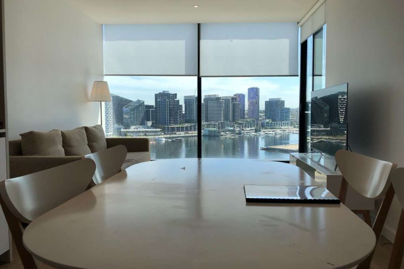 Main view of Homely apartment listing, 1305/915 Collins Street, Docklands VIC 3008