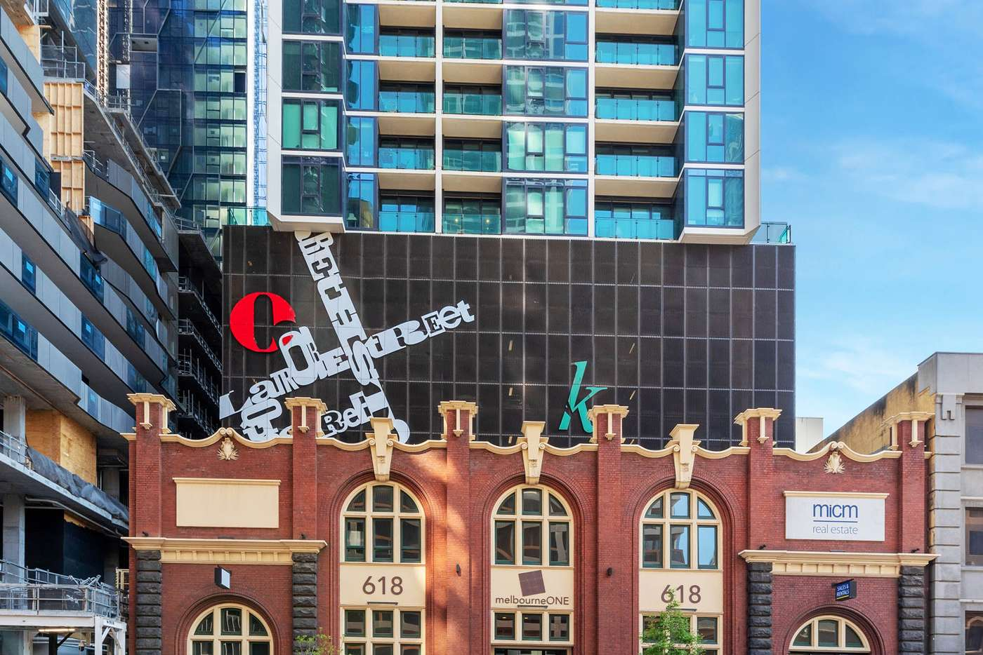 Main view of Homely apartment listing, 2707/618 Lonsdale Street, Melbourne VIC 3000