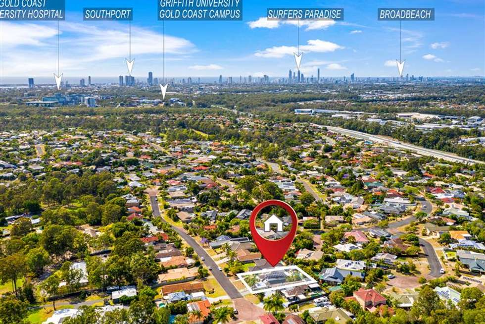 Fourth view of Homely house listing, 6 REBBECHI COURT, Parkwood QLD 4214