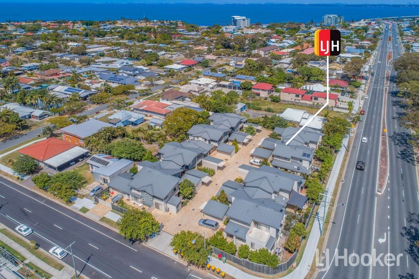 Main view of Homely townhouse listing, 3/1 Gerald Avenue, Clontarf QLD 4019