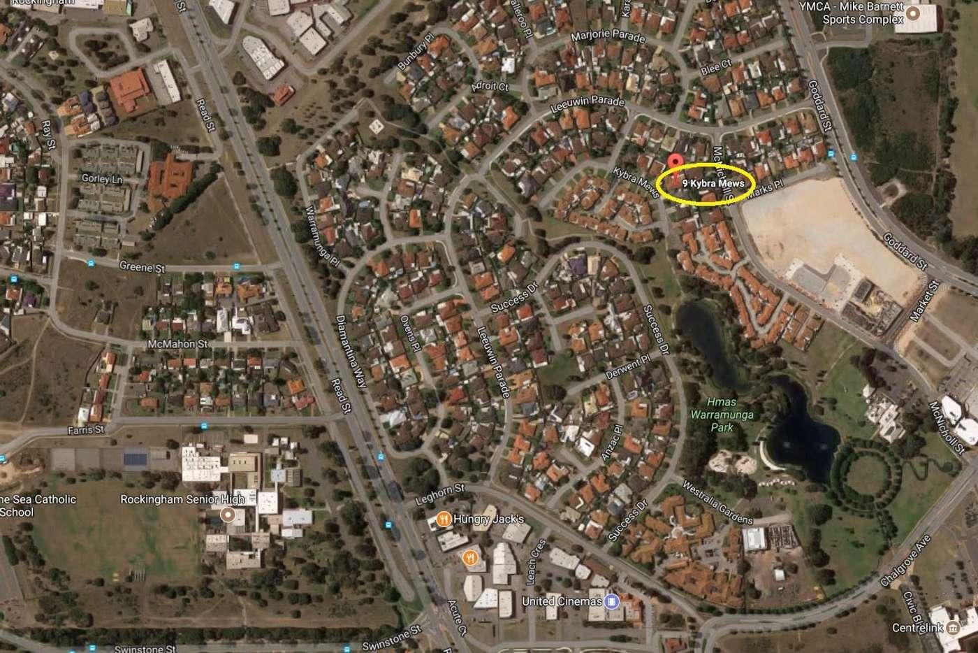 Sixth view of Homely house listing, 9 Kybra Mews, Rockingham WA 6168