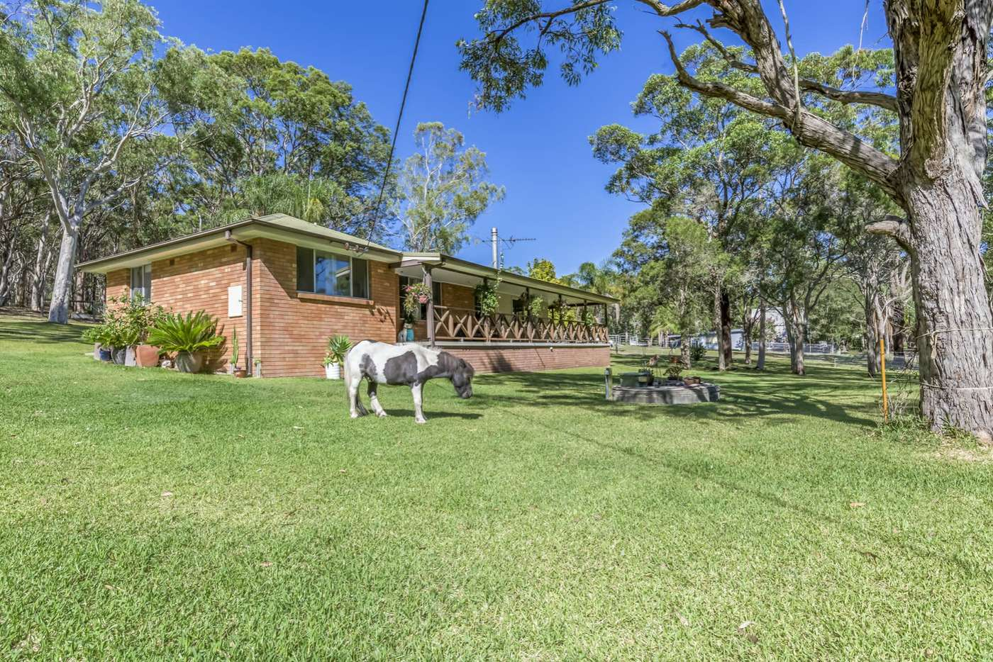 Main view of Homely acreageSemiRural listing, 5 Cams Wharf Road, Cams Wharf NSW 2281