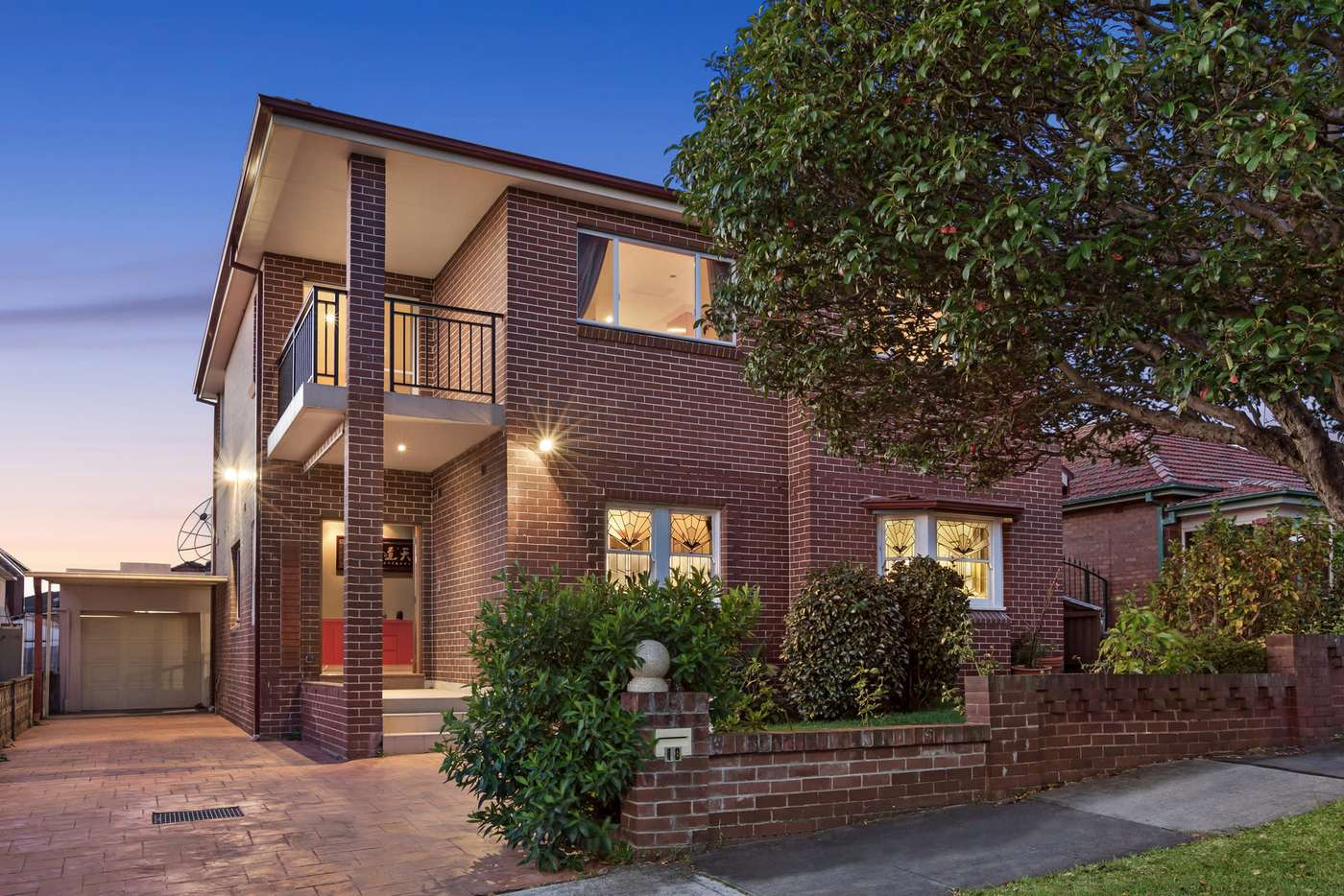 Main view of Homely house listing, 18 Gartfern Avenue, Wareemba NSW 2046