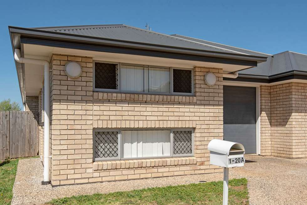 Second view of Homely semiDetached listing, 20A Alpine Court, Cranley QLD 4350