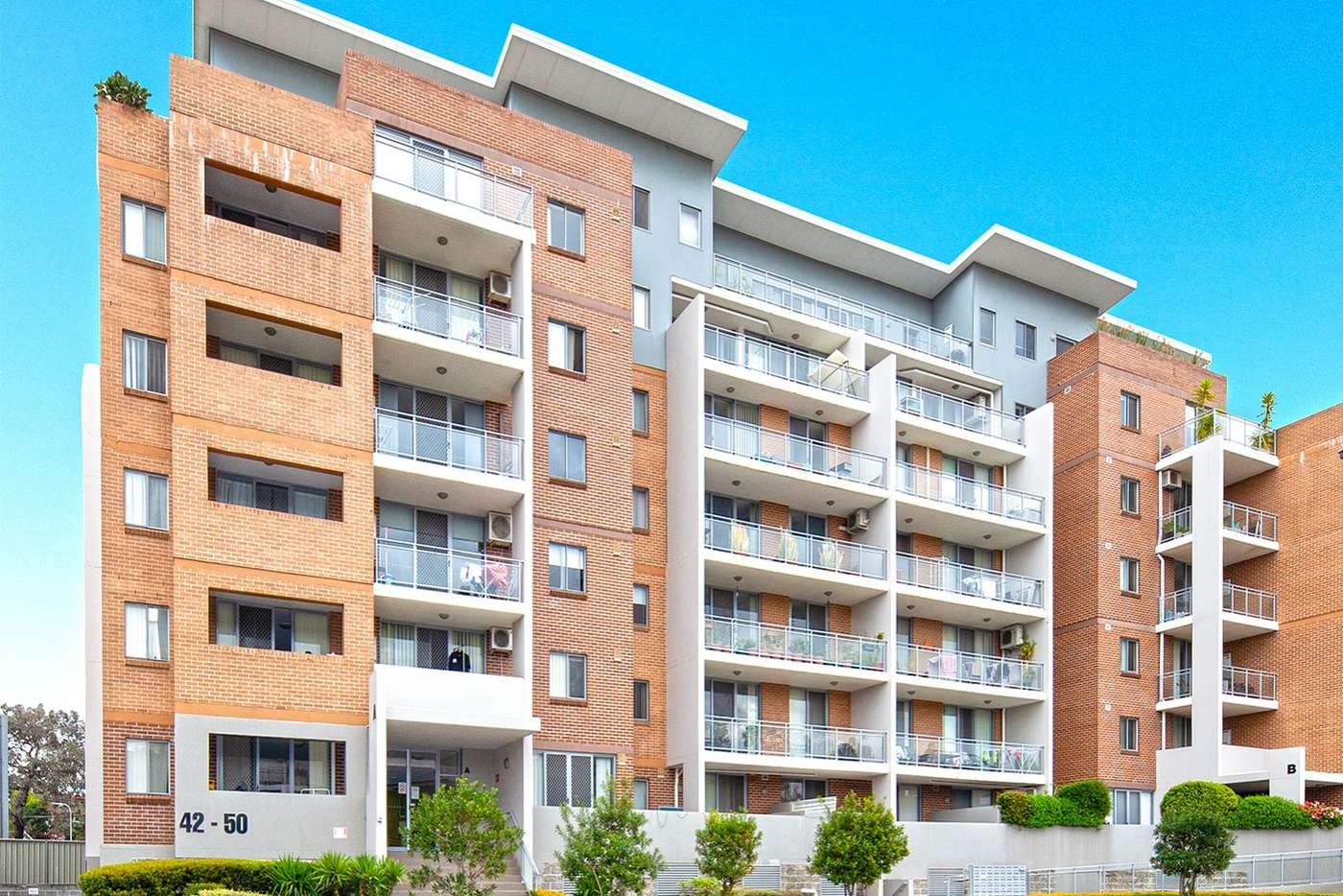 Main view of Homely unit listing, A401/42-50 Brickworks Drive, Merrylands NSW 2160
