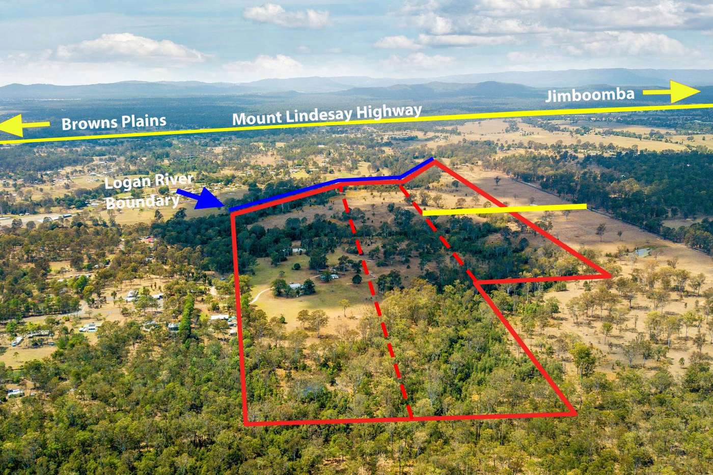 Main view of Homely residentialLand listing, 52 Glasgow Road, South Maclean QLD 4280