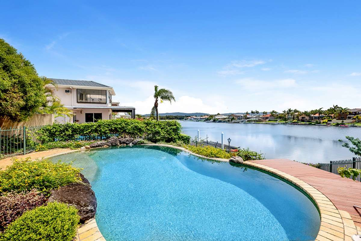 Main view of Homely house listing, 1 Andros Court, Clear Island Waters, QLD 4226
