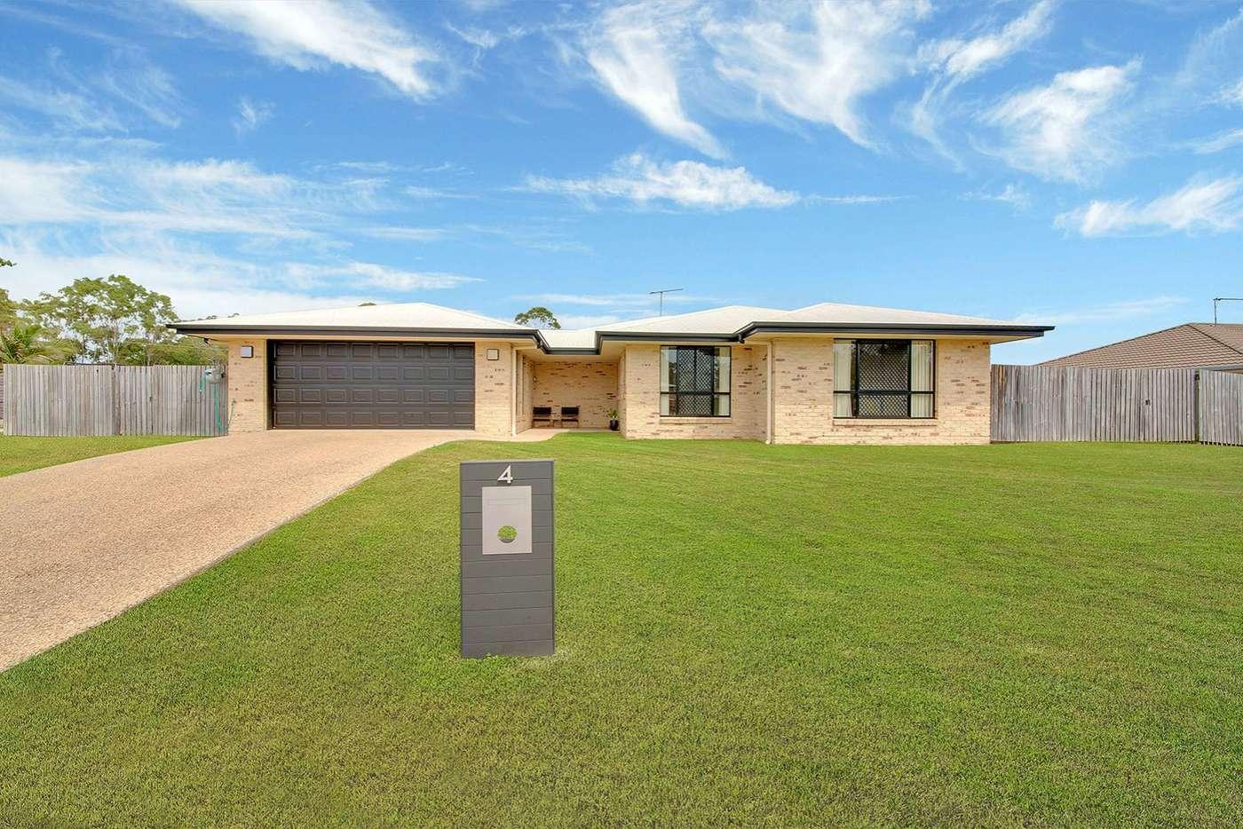 Main view of Homely house listing, 4 Jooloo Court, Kin Kora QLD 4680