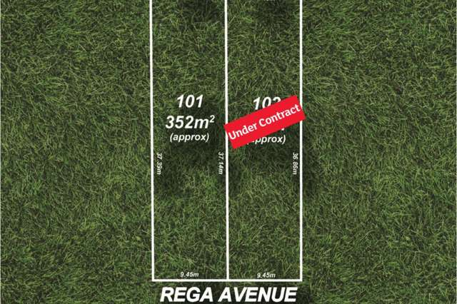 Lot 101 & 102/6 Rega Avenue