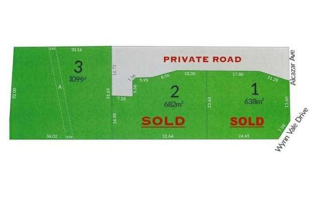 Lot 3 Wynn Vale Drive, Gulfview Heights SA 5096