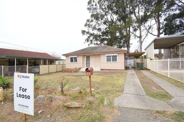 15 Wilco Avenue, Cabramatta West NSW 2166