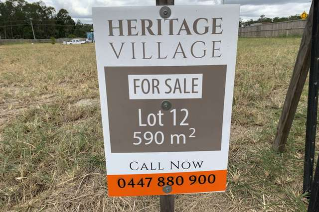 Lot 12/174 - 192 Green Road, Heritage Park QLD 4118