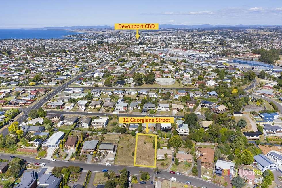 Second view of Homely residentialLand listing, 12 Georgiana Street, Devonport TAS 7310