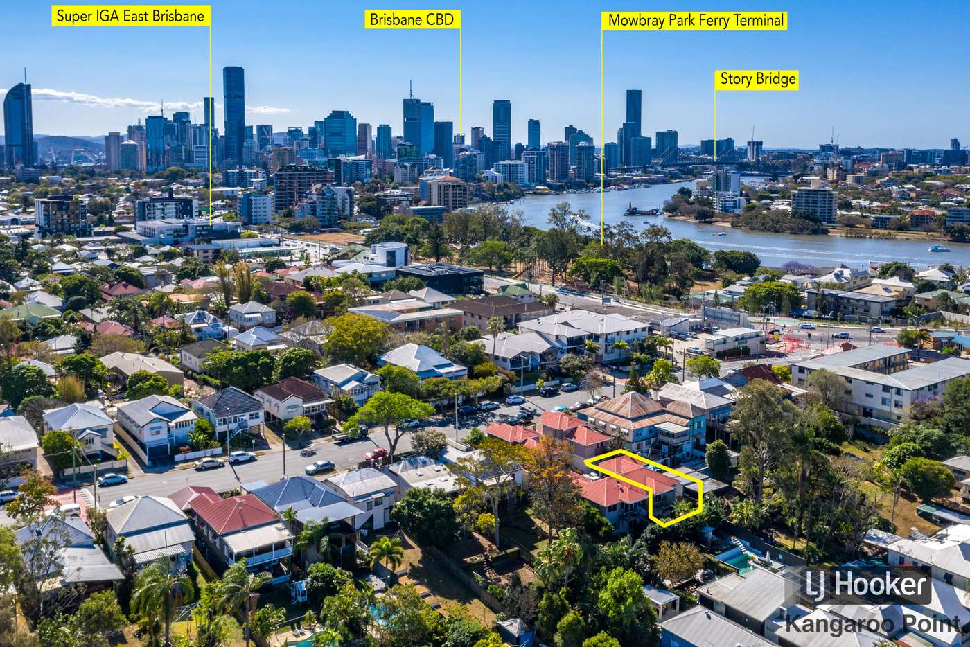 Main view of Homely townhouse listing, 3/59 Heidelberg Street, East Brisbane QLD 4169