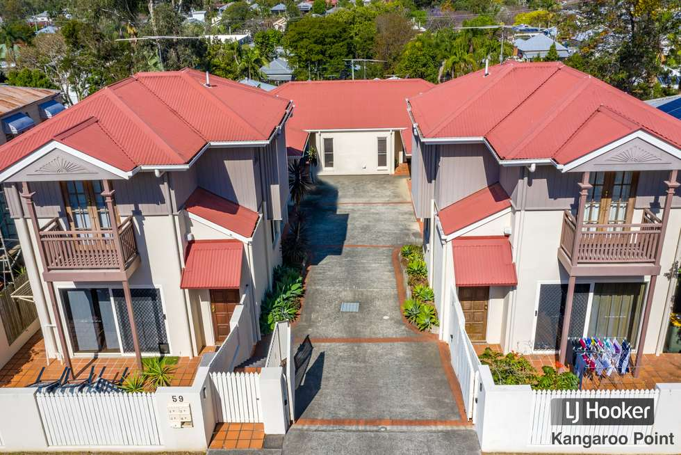 Second view of Homely townhouse listing, 3/59 Heidelberg Street, East Brisbane QLD 4169