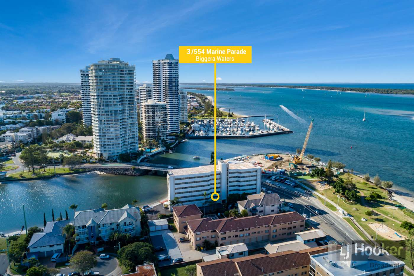 Main view of Homely apartment listing, 3/554 Marine Parade, Biggera Waters QLD 4216